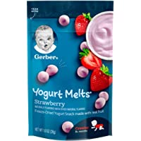 Gerber GRADUATES, Baby Food, Yogurt Melts Strawberry, 28g
