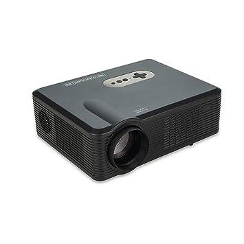 Proyector, proyector LCD 1080P de 200 Pulgadas Compatible con 2 ...