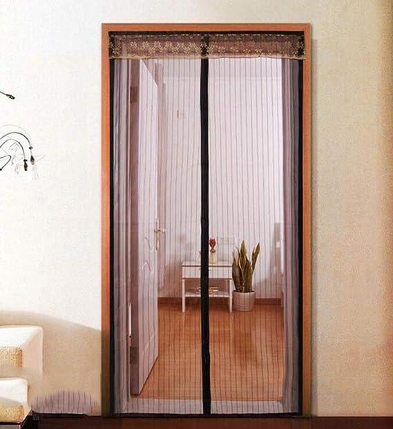 Cortina anti mosquitos, cortina suave magnética silenciosa ...