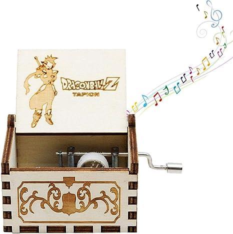 Mini caja de música de manivela para mujer, diseño de piratas del Caribe – Caja de música