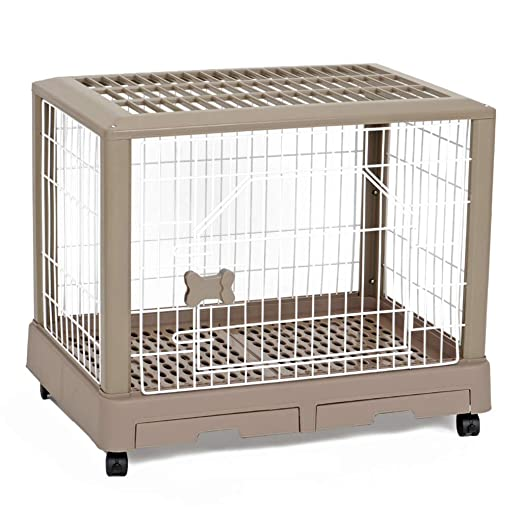 LTLJX Jaulas para Perros Parques Perrera Transportín Cuatro ...