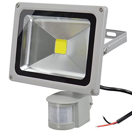 GLW Proyector del Sensor de Movimiento LED 20W12V AC o DC Luz de Seguridad a Prueba agua ...