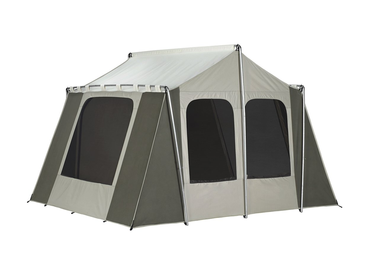 Kodiak Canvas 12×9 Canvas Cabin Tent - 2 to 4 Person