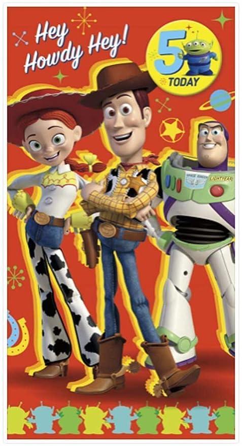 Disney Pixar Toy Story 5th Tarjeta de cumpleaños con ...