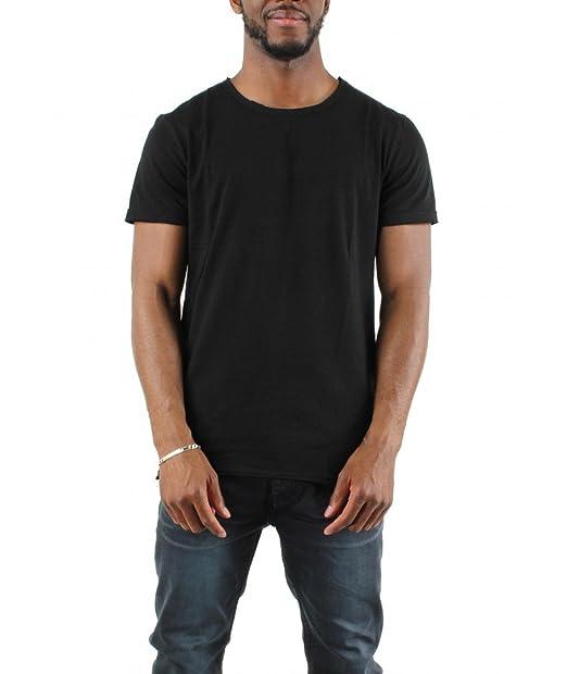 5eme Saison T Shirt Basic Fermeture Zip Cotes Zelys Homme