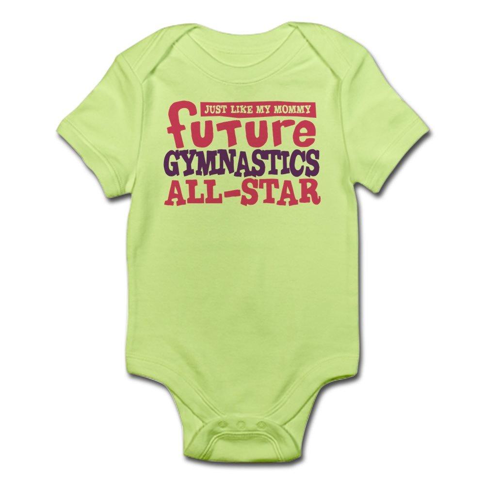 1d80c82bef83 CafePress Gymnastics...Just Like MOM Cute Infant Bodysuit Baby Romper