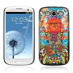 Designer Depo Hard Protection Case for Samsung Galaxy S3 / Cool Psychedelic Pattern