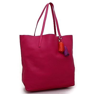 new product 947bb 1d1fd Amazon | (ロエベ) LOEWE レザー トートバッグ ピンク | トート ...