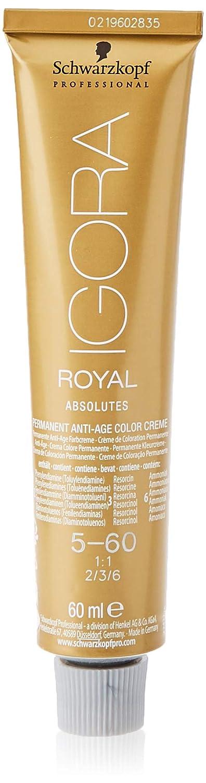 Schwarzkopf Professional Igora Royal Absolutes Anti-Age Color Creme 5-60 Tinte - 60 ml