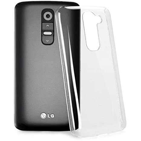 KGC_ DOO Rígido Carcasa Funda TRANSPARENTE CLEAR CRYSTAL Duro Plástica para LG G2 Mini D618 - Back Hard - Caída Protección concha cubierta - Cover ...