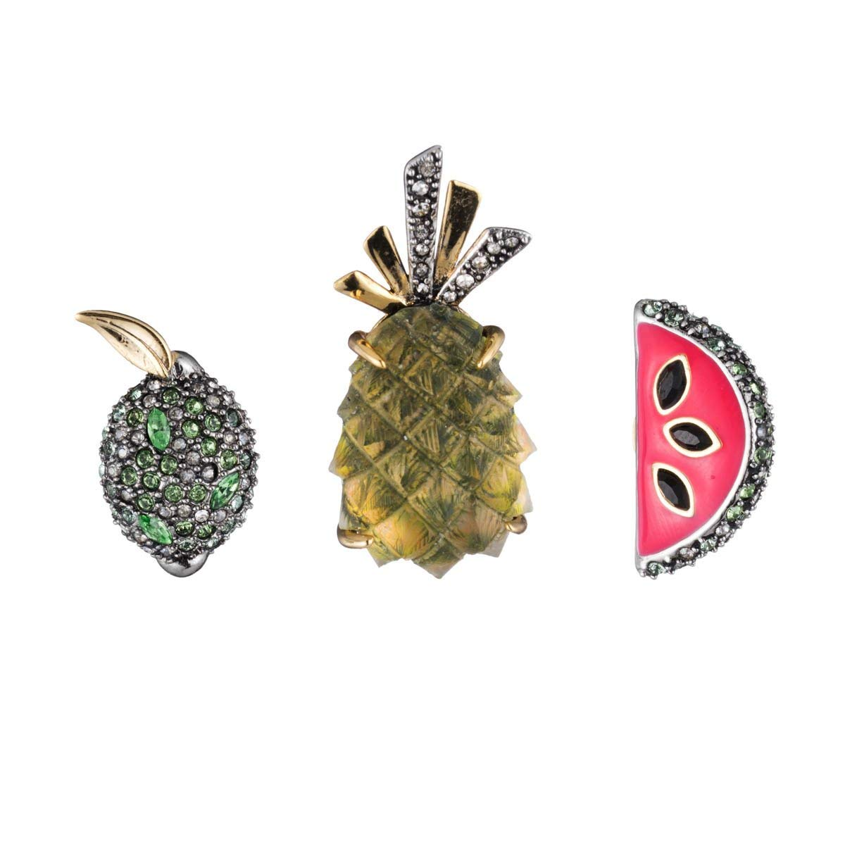 Alexis Bittar Women's Fruity Pin Set