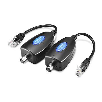 Gadinan transmitir cámara señal IP por cable coaxial existente Max hasta 220 m/720ft 1