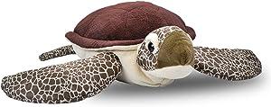 Wild Republic Jumbo Sea Turtle Plush, Giant Stuffed Animal, Plush Toy, Gifts for Kids, 30 Inches
