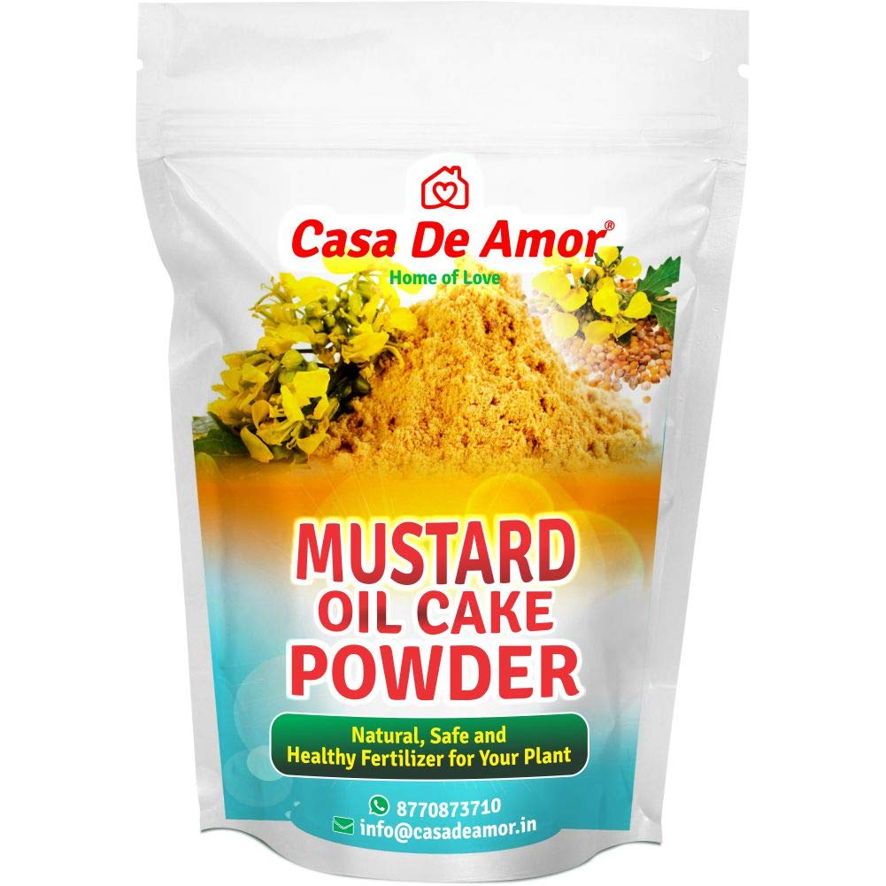 Mustard Oil Cake Powder Natural Fertilizer for Plant Growth and Healthy Roots (10 KG) (B07N6BL7YP) Amazon Price History, Amazon Price Tracker