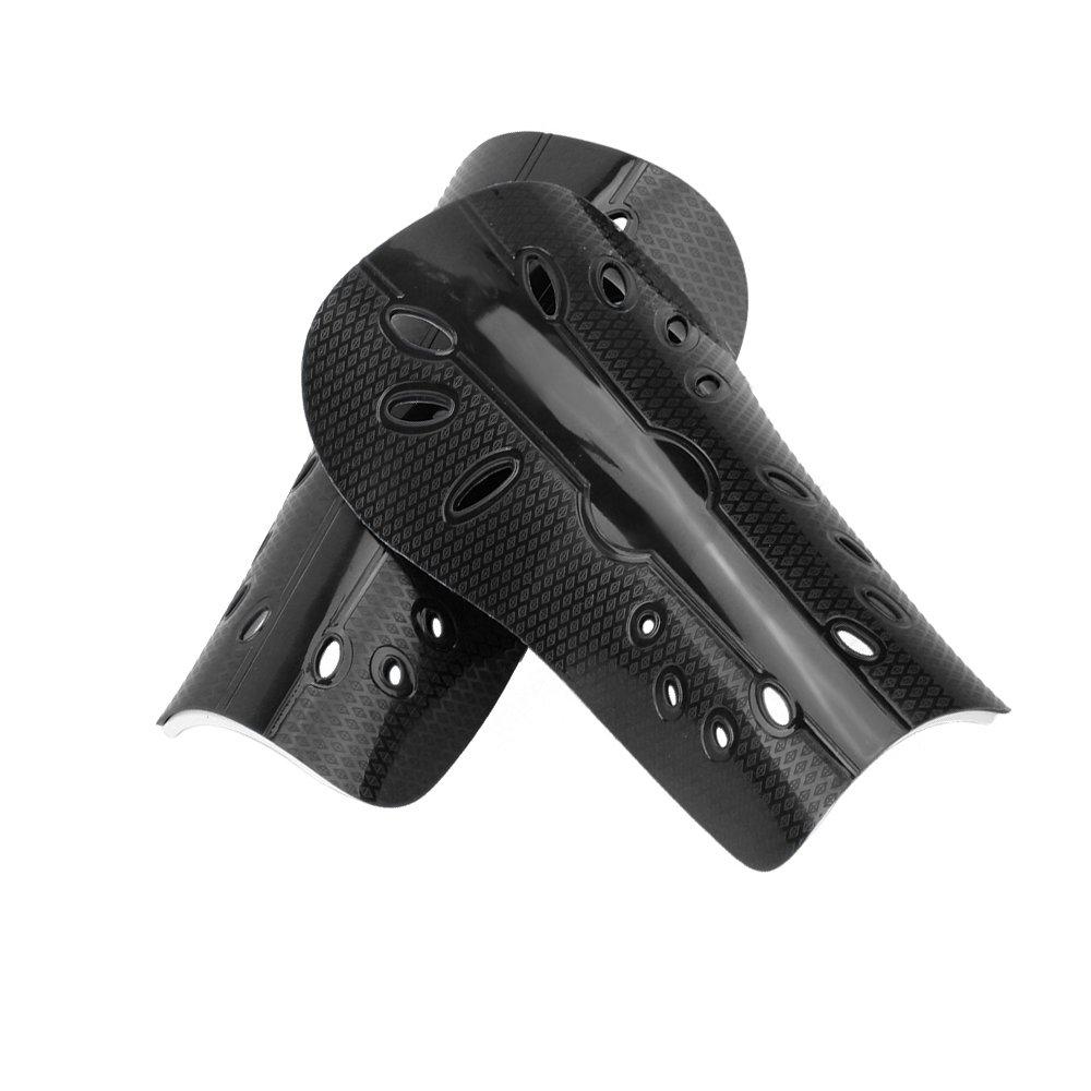 ユースサッカーShin Pad Shin Guards Protective gear-1ペア& # xff08 ;ブラック) B072KMFZ9B