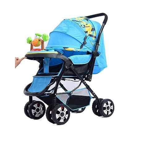 Carrito De Bebé Recién Nacido Carro De Bebé Plegable Se Puede Sentar ...