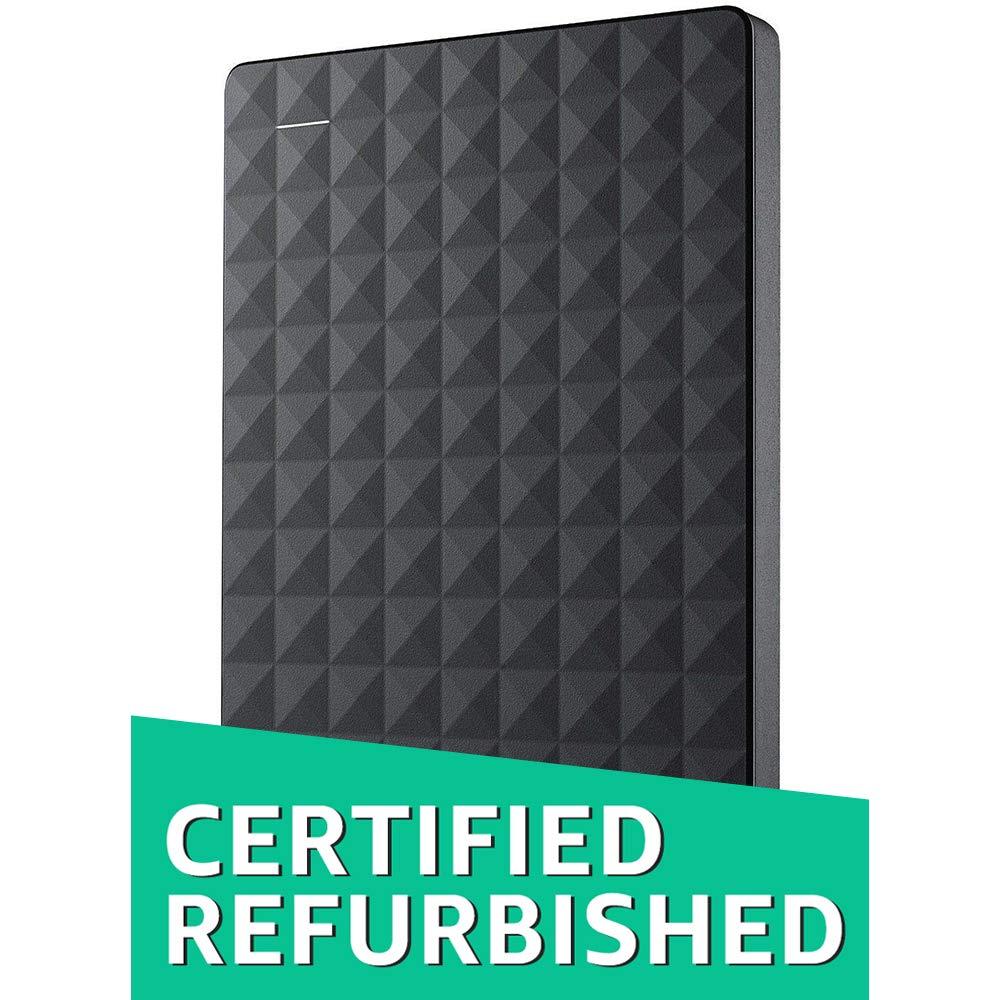 Seagate Expansion Portable Portable External Hard Drive USB 3.0 PC & PS4 (Renewed), Capacity:2.000GB (2TB)