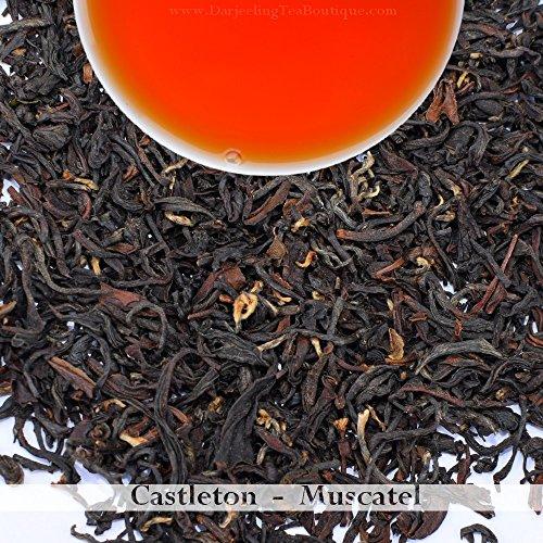 Castleton Tea: Darjeeling Second Flush Black Tea 2018 | 100 gram(3.52ounce) | Premium Loose Leaf Summer Tea, Muscatel, Musk Flavor for Breakfast and Afternoon Tea time | Darjeeling Tea Boutique