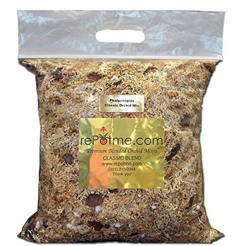 - Phalaenopsis Gold Classic Orchid Mix - 2 Quarts (Mini Bag)