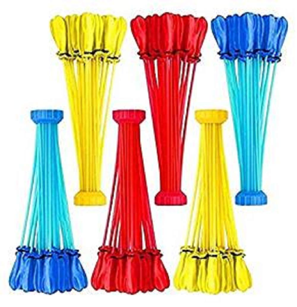200 Party Pack Bunch O Balloons - 6 Bunches Totals 200 Easy Fill Water Balloons (Colors May Vary) - Fun Toy Gift Party Favors
