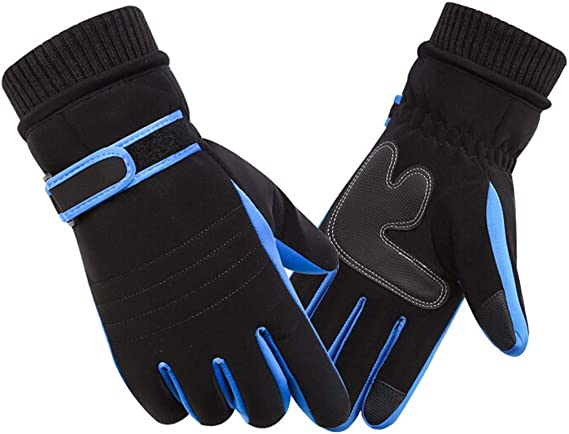 Winter Motorcycle Bike Sport Outdoor Work Ski Gloves Thermal Fleece Lined Mitten