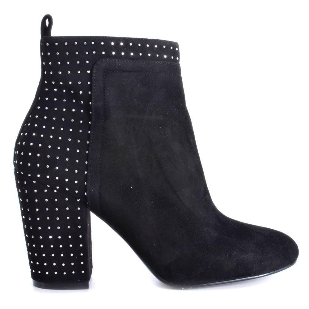 Guess Mujer Botines, fl4ushsue10, Negro, 40: Amazon.es: Zapatos y complementos