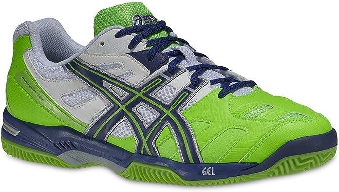 Asics Gel Padel Top SG - Zapatillas para Hombre, Color Blanco/Azul ...