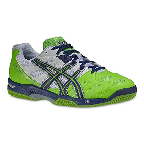 Asics Gel Padel Top SG - Zapatillas para hombre, color blanco/azul / verde/plata, talla 45: Amazon.es: Zapatos y complementos