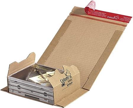 ColomPac CP020,01 flexible Wicked Verpackung de cart/ón corrugado 147 x 126 x 55 mm Brown
