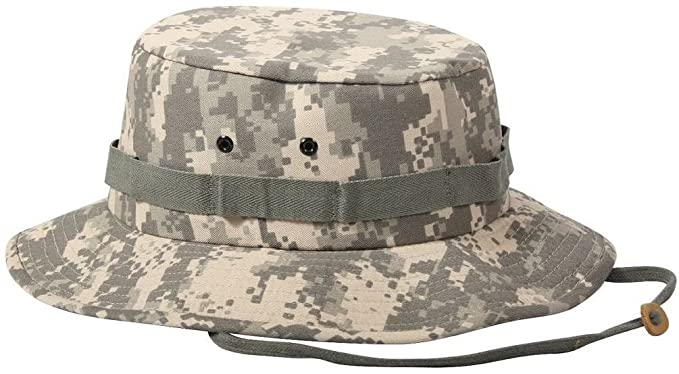 Image Unavailable. Image not available for. Color  Boonie Hat Acu Digital  Camouflage Military ... 6c56c74fed31