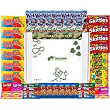 Go Snacking 44 Piece Candy Man Box College Care Package Office Snacks Military Care Package Snacks For Kids Camping Contains Bulk Snacks Candy Cookies Chips Nuts Dried Fruits Assortment Bundle