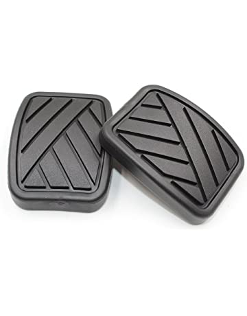 Hotwin 2pcs Brake Clutch Pedal Pads 4975158J00 Compatible with Suzuki Swift Samurai Sidekick Geo Metro Tracker