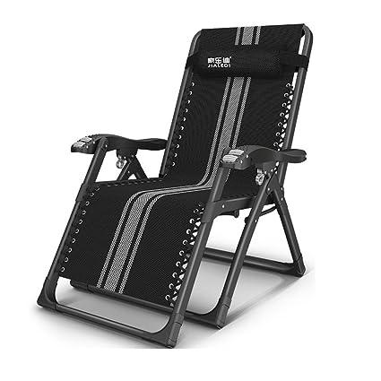 Amazon.com: ZR- plegable silla de salón almuerzo siesta cama ...