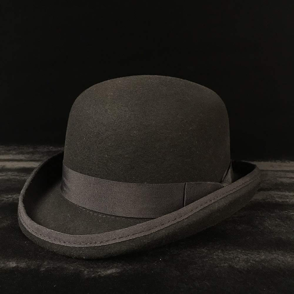 CP /& YR Wool Bailey Ofhollywood Fedora Hat For Gentleman Crushable Hantom Dad Bowler Hat Luxury Billycock Hats For Unisex