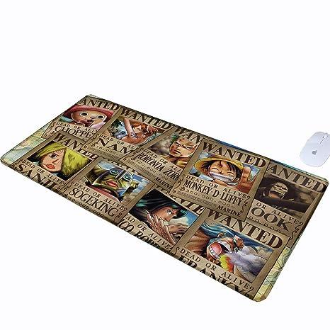 Amazon.com : Office Desk Pad Mouse Pad One Piece Monkey D ...