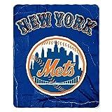 Northwest NOR-1MLB031010019RET 50 x 60 in. New York Mets MLB Light Weight Fleece Blanket, Wicked Series