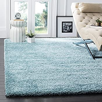 Amazon Com Blue Shag 5x7 Modern Contemporary Area Rugs