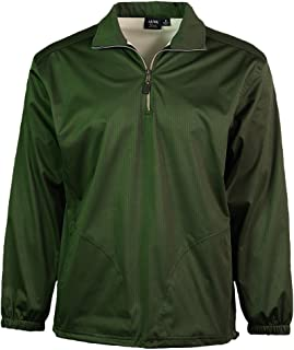 product image for Akwa Men's 1/4 Zip Windshirt with Pockets Made in USA