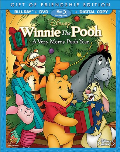 Blu-ray : Winnie the Pooh: A Very Merry Pooh Year (With DVD, Special Edition, Deluxe Edition, Full Frame, 2 Pack)