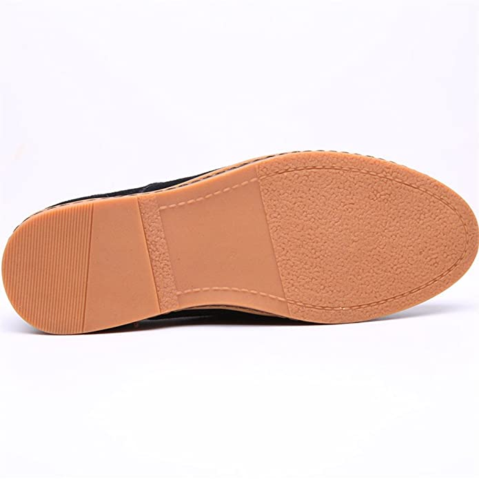 SHELAIDON - Zapatos Planos con Cordones Hombre , color verde, talla 48
