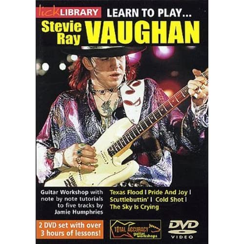 Learn to Play Stevie Ray Vaughan Guitar 1 [Import anglais]