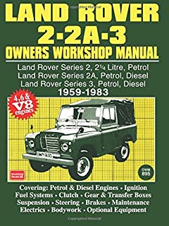 land rover series ii iia and iii maintenance and upgrades manual rh amazon com land rover discovery user manual pdf range rover user manual