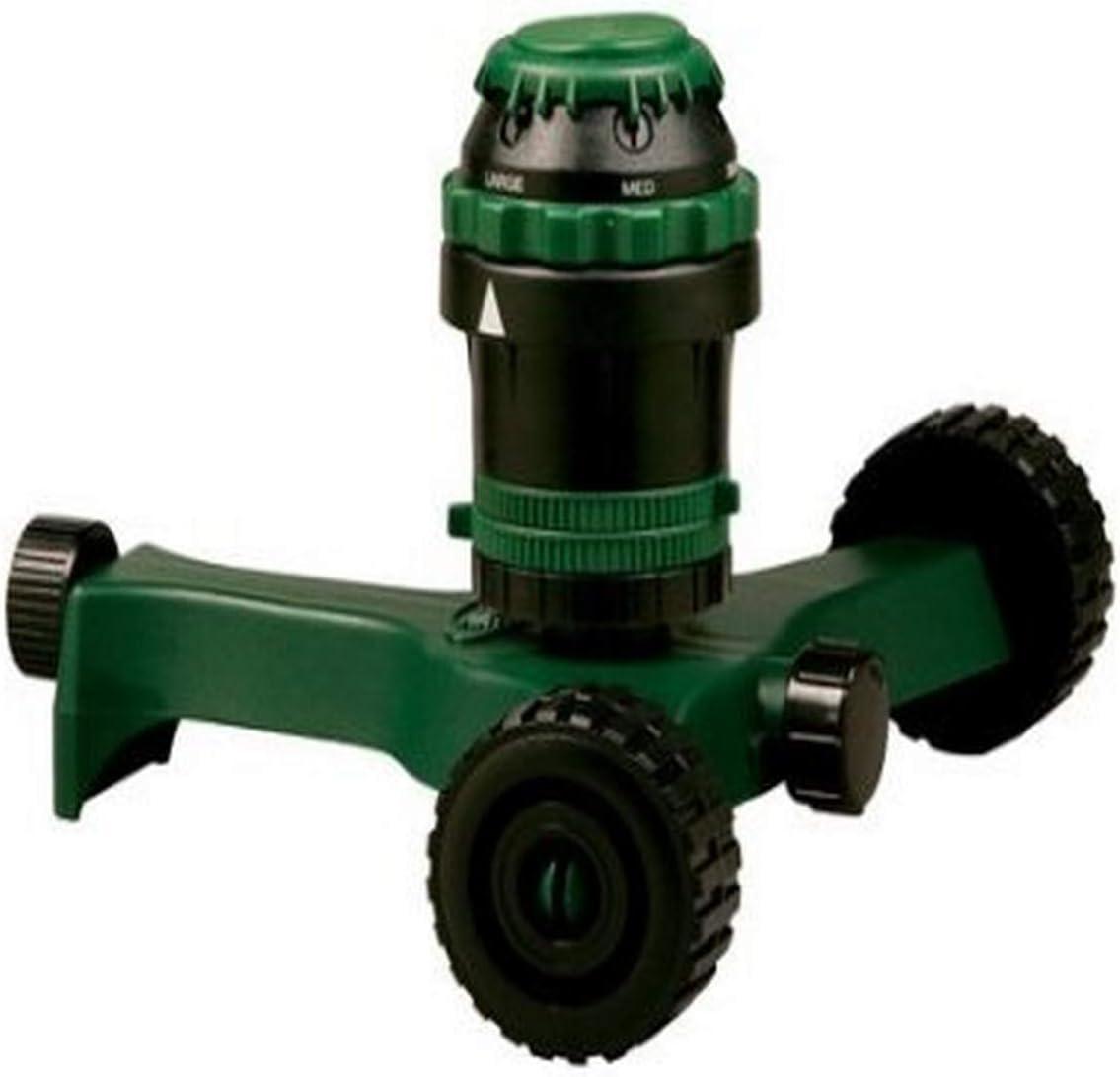Orbit H2O-6 Gear Drivev Sprinkler with Wheels 58572 Pack of 3 58572N