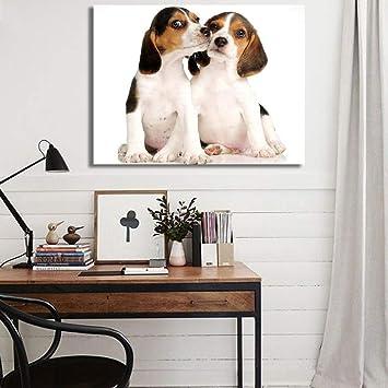Amazon.com: SQSM Pintura al óleo impresa sobre lienzo: Home ...