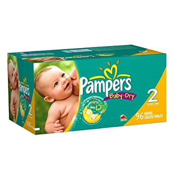 Pampers Baby Dry Big Pack Diapers -- size: size 3