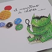 El monstruo de colores edición álbum ilustrado, no versión