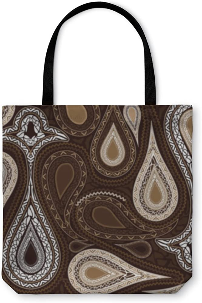 Abstract Floral Pattern 3317257GN Gear New Shoulder Tote Hand Bag