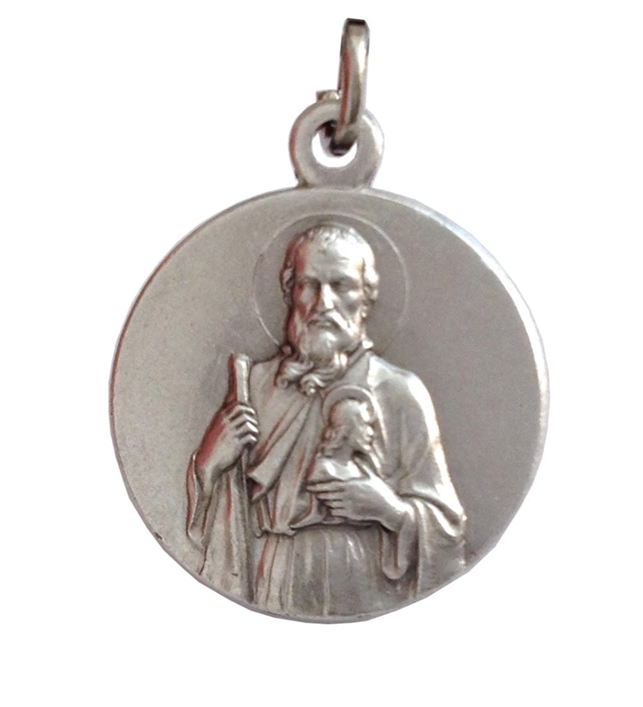 Saint Jude Thaddeus The Apostle Silver Medal - The Patron Saints Medals