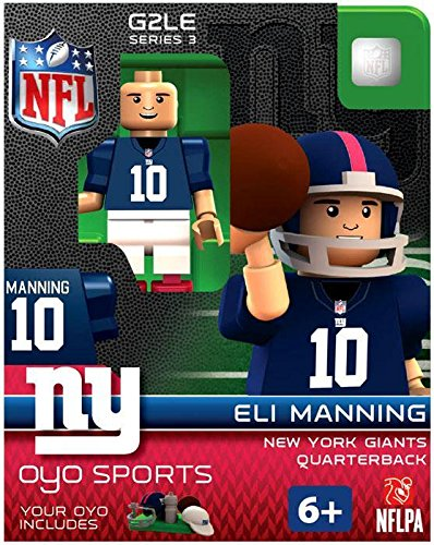 NFL New York Giants Eli Manning Gen 2 Mini Figure, Petit