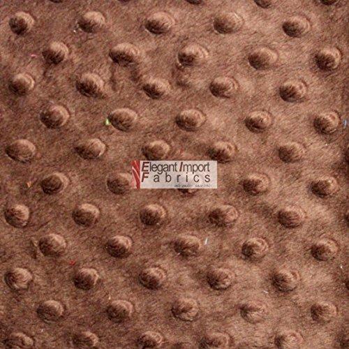 MINKY MINKEE CHENILLE DOT SOFT FABRIC CUDDLE 38 COLOR 60